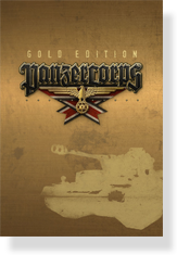 Panzer Corps Gold DVD box