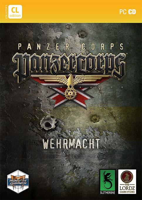 Panzer Corps DVD box