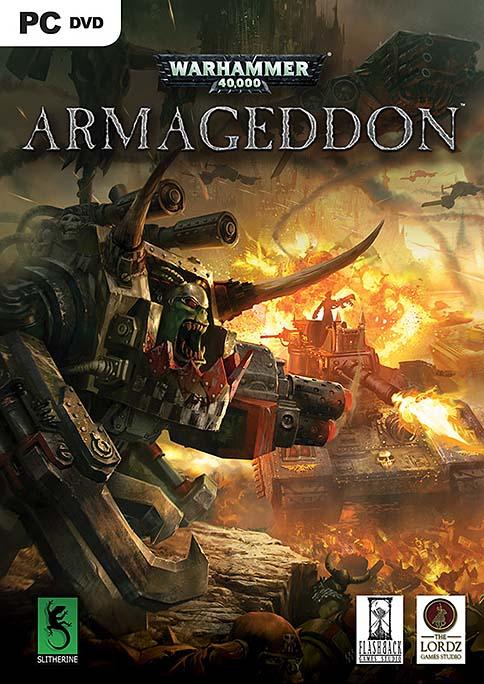 Warhammer 40,000 Armageddon DVD box