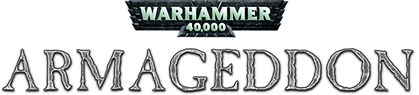 Warhammer 40,000 Armageddon logo