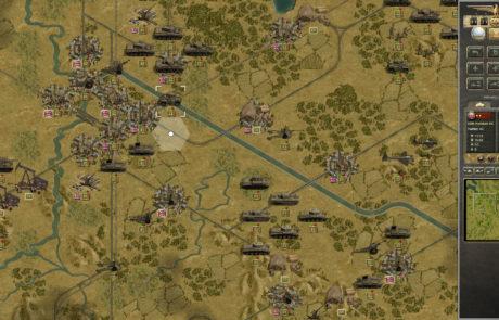 Grand Campaign '45 West screenshot