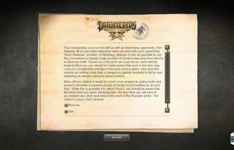 Panzer Corps screenshot
