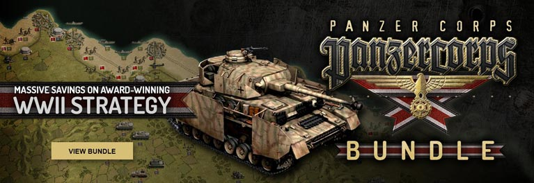 Panzer Corps bundles from $2.99. Limited-Time Offer!