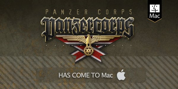 Panzer Corps available on Mac