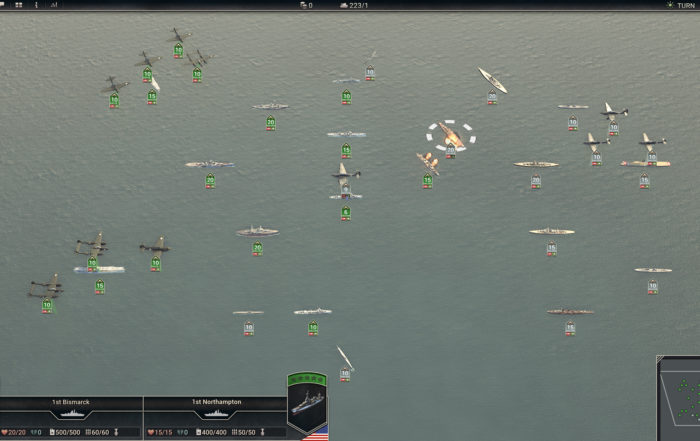 PanzerCorps 2 Alpha version screenshot