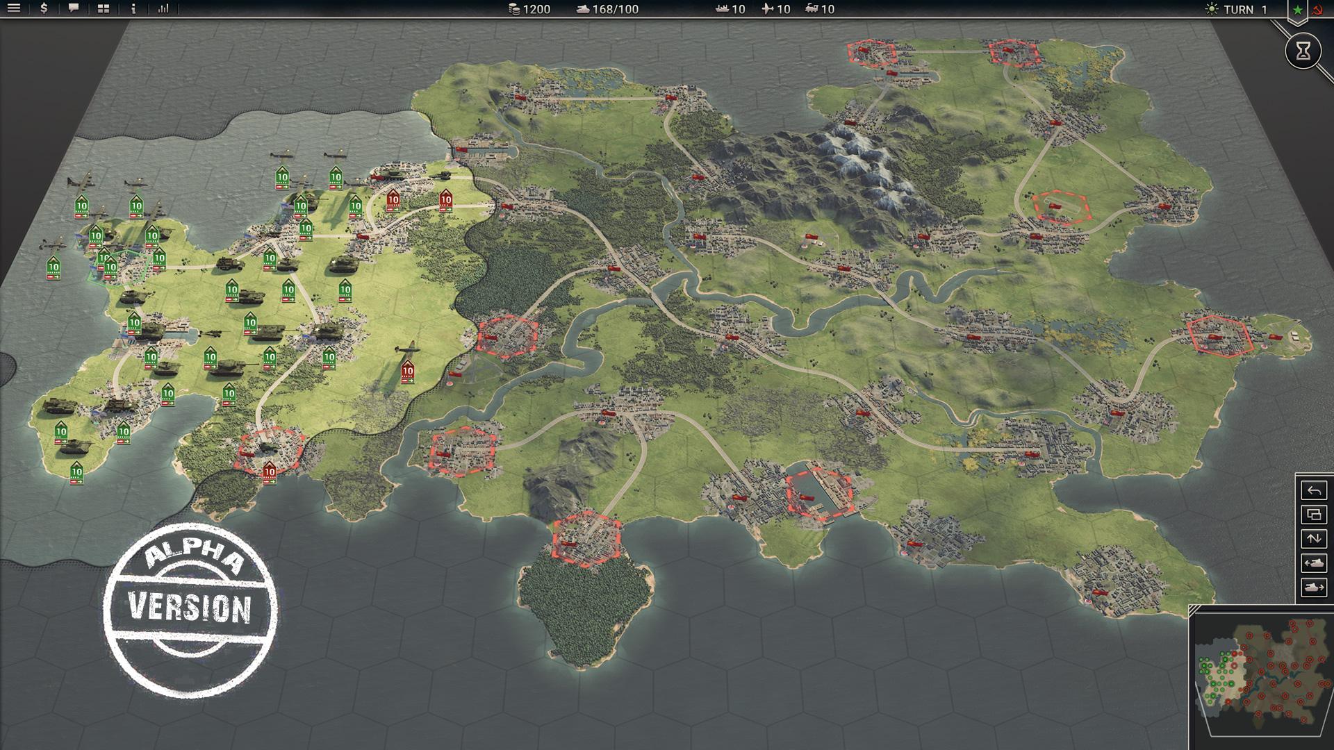 PanzerCorps 2 Alpha version screenshot